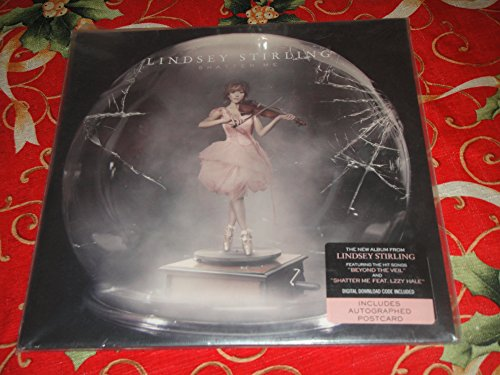 Lindsey Stirling Shatter Me, Barnes & Noble Vinyl Signed Postcard