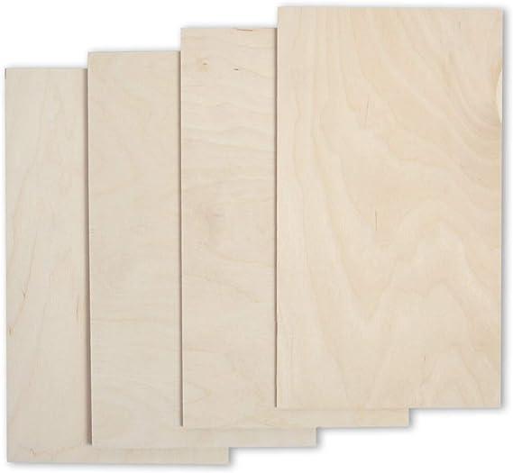 largeur 60 cm plat multicouche longueur 55 cm pour le bricolage et le bricolage en bois multicouche non trait/é massif de bouleau massif multi-usages Panneau de 18 mm d/épaisseur