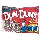 Dum Dums Pops Fun Flavours 100 Pcs 488g