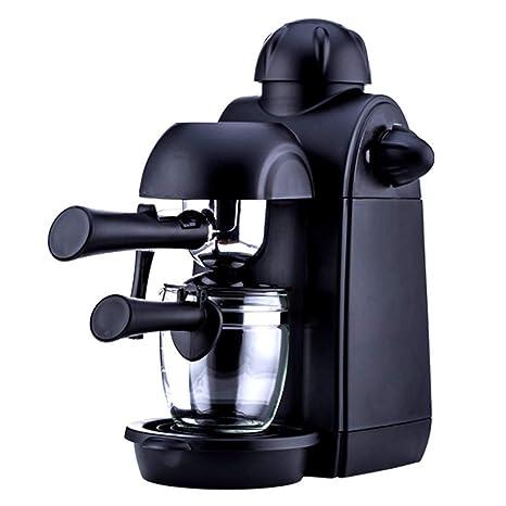 Máquina Del Espresso, Espresso Casero Y Máquina Del Cappuccino Con El Espumador De La Leche