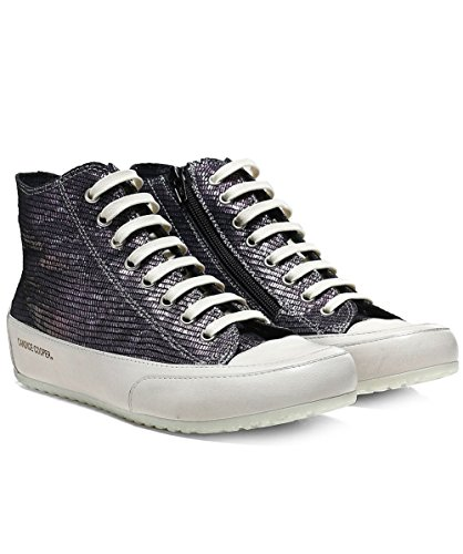 Candice Cooper Ladies Iridescent Smarto Top Sneakers Nero Nero