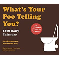 2018 Daily Calendar: What's Your Poo Telling You?