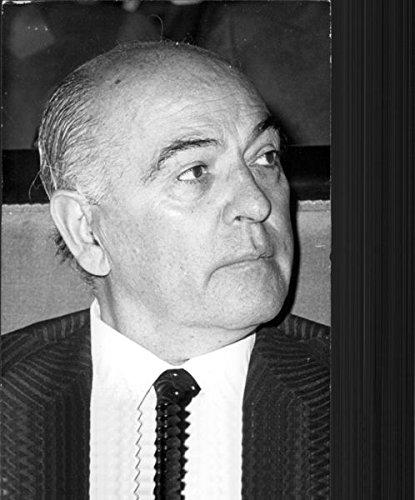 Vintage photo of Portrait of Jose Solis Ruiz. (Portrait Solo)