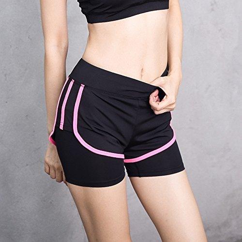 À Rose Sports Red Taille Milieu Nbe Women's Courir Pantalon Court Collants D'entraînement Yoga Leggings 43ARjc5qSL