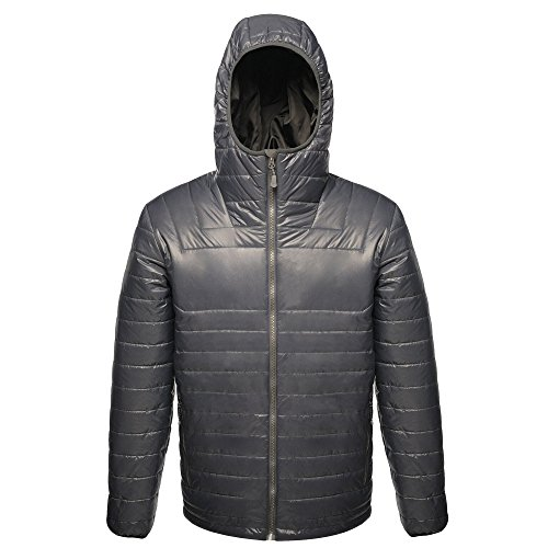 (Regatta X-Pro Mens Icefall II Down-Touch Padded Jacket (XL) (Seal Gray))