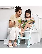 KLTD Kids Toilet Ladder Baby Toddler Training Toilet Step Potty SEAT Non Slip Trainer