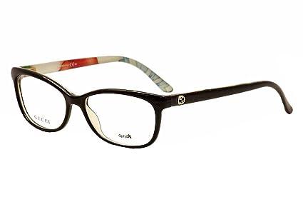 Amazon.com: Gucci eyeglasses GG 3699/N Z96 Acetate Black: Sports ...