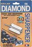 EZE-LAP CSG 3/16 Chainsaw Sharpener with Super Accurate Guide