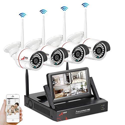 Wireless CCTV Security Systems, SWINWAY Wireless Security Camera...