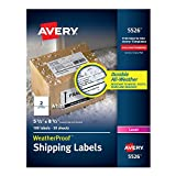 Best Weatherproof Labels For Lasers - Avery WeatherProof Mailing Labels with TrueBlock Technology Review