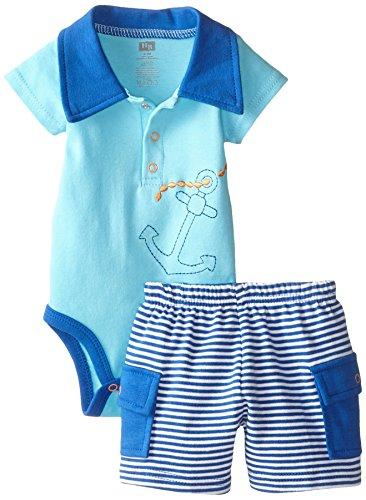 Hudson Baby Anchor Sleeve Bodysuit product image