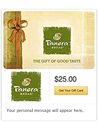 Panera Bread Gift Cards - Email Delivery