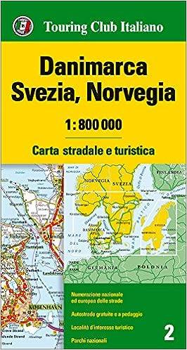 Norvegia Cartina Stradale.Amazon It Danimarca Svezia Norvegia 1 800 000 Carta Stradale E Turistica Ediz Multilingue Aa Vv Libri