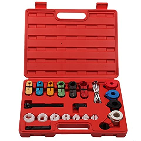 Qbace Fuel & Air Conditioning Disconnection Tool Set (Fuel Line Disconnect Kit)
