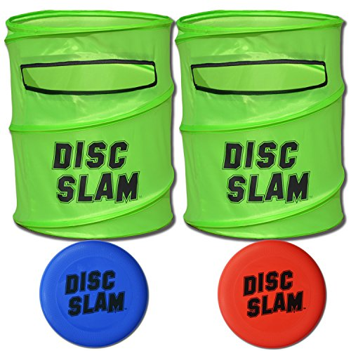 GoSports Disc Slam Flying Disc Game Set, with 2 Discs and Case (Slam Can Game)
