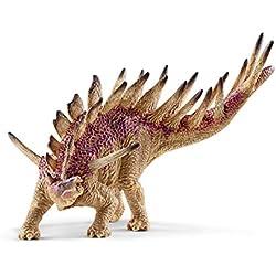 Schleich Réplica de Figura de Dinosaurio Kentrosaurio, color beige con rojo