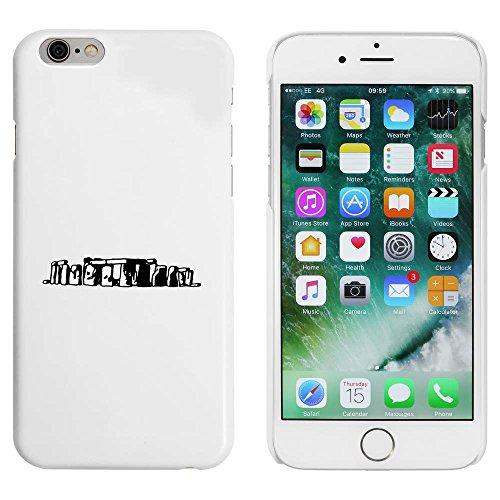 Blanc 'Stonehenge' étui / housse pour iPhone 6 & 6s (MC00084505)