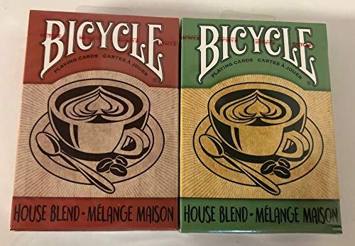Bicycle House Blend Playing Cards (2 Pack)