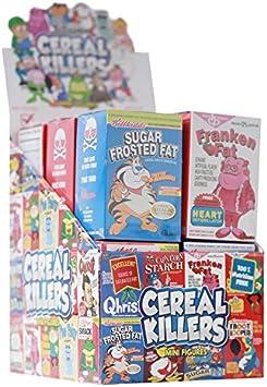 Caja Completa de 12 Cereales Killers de Vinilo de 3 Pulgadas ...