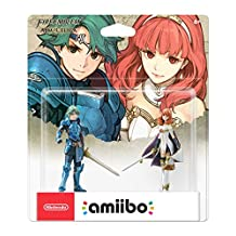 Alm & Celica amiibo 2 Pack Fire Emblem Series, 3DS