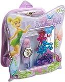 Disney Kids FAR028B Fairies gift back pack set Watch