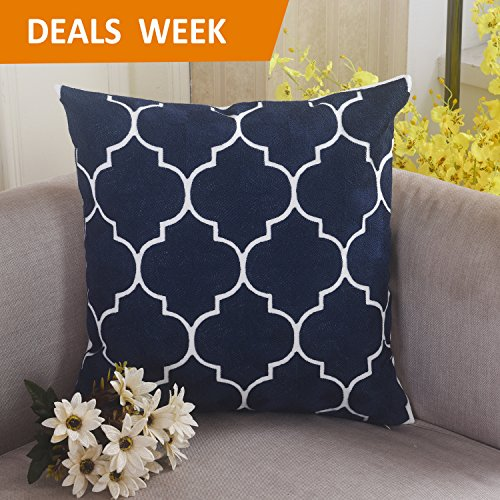 Home Brilliant Couch Cushion Cover Decorative Throw Pillow E