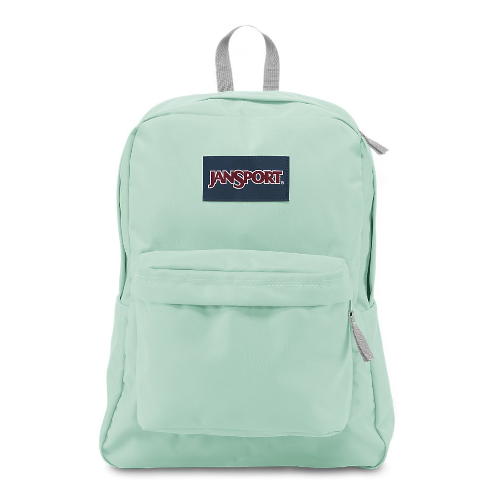 JanSport Superbreak Backpack - Brook Green - Classic, Ultralight