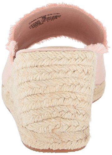 Dusty Lauren Carlynda Ralph Women's Espadrille Pink Lauren Wedge Sandal 075qwfx