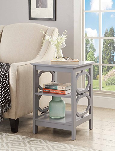 Convenience Concepts Omega End Table Omega End Table White