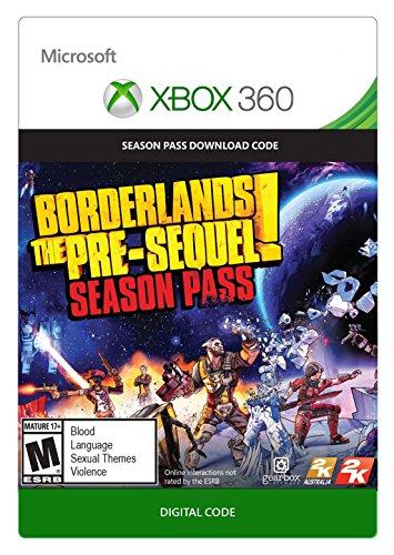 Borderlands: The Pre-Sequel - Season Pass - Xbox 360 Digital Code