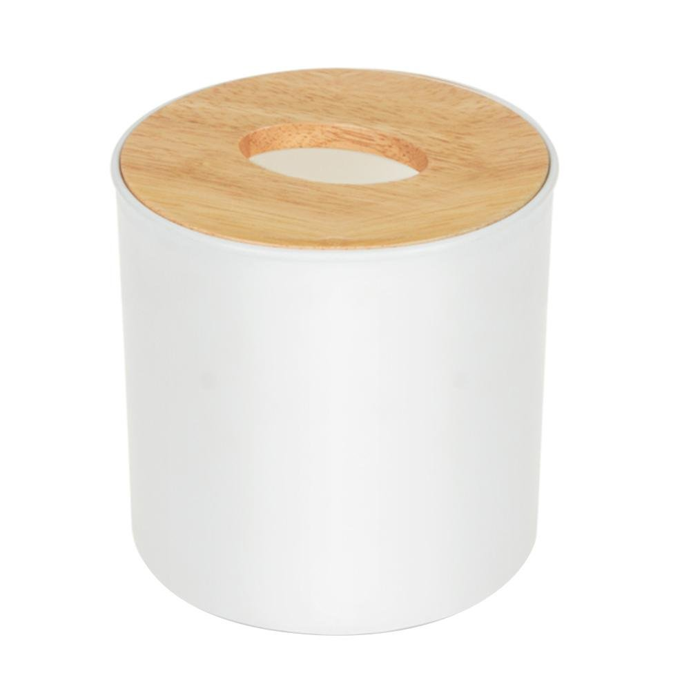 Wooden Tissue Box Home Tissue Box Container Towel Napkin Tissue Holder(03) MKChung
