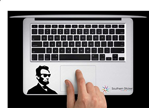 Cool Abe with Sunglasses Vinyl Car Sticker Symbol Silhouette Keypad Track Pad Decal Laptop Skin Ipad Macbook Window Truck - Sunglasses Silhouettes