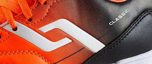 Pro Touch Niños Hallen–fussballschuh Classic en Jr Naranja/Negro - naranja/negro