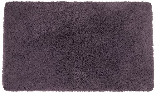 Welspun Crowning Touch Luxurious Non-Slip Bath Rug, 24 by 40-Inch, Eggplant ()