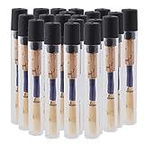 Yibuy Wood Oboe Reeds Medium 2.5 with Protecting Holder Set of 50