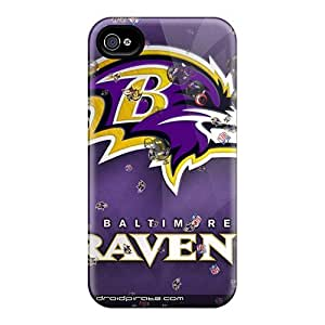 High Quality Hard Phone Case For Iphone 6 (XUs3094XFBB) Allow Personal Design Stylish Baltimore Ravens Pictures