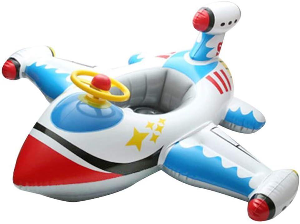 MAICOLA Flotador del Asiento del bebé Bote Inflable avión Piscina flotadores para niños Piscina de flotación Asiento del Barco Piscina Anillo Verano natación de la diversión del Juguete