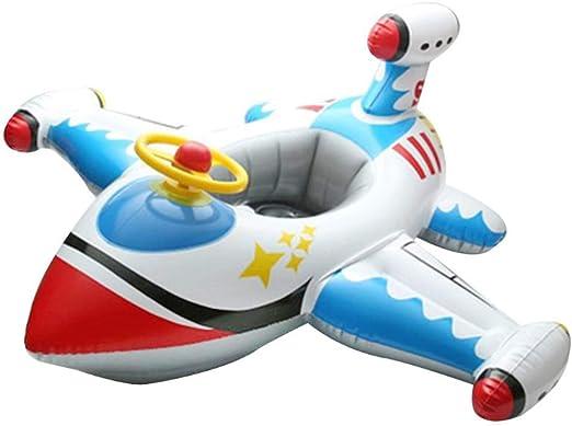 MAICOLA Flotador del Asiento del bebé Bote Inflable avión Piscina ...