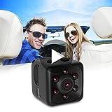 qiaoW Mini Camera 1080P Portable HD Covert Security Monitor Smart Camera Night Vision Motion Detection Camera