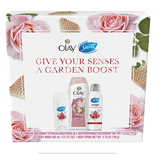 Secret Give Your Senses A Garden Boost Secret & Olay Special Pack, 19.85 Ounce