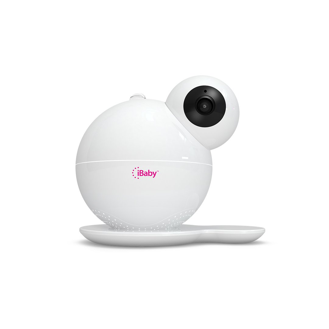 iBaby Care M7, Smart Wi-Fi enabled Digital Video Baby Monitor, 1080p Full HD, 360 Rotation, Moonlight soother, Music player, Smart sensors, iPhone and Android.