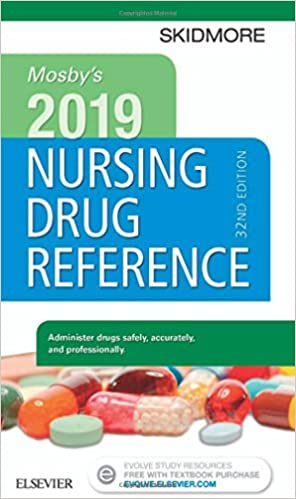 Mosbys 2019 nursing drug reference skidmore nursing drug reference mosbys 2019 nursing drug reference skidmore nursing drug reference 32nd edition fandeluxe Gallery