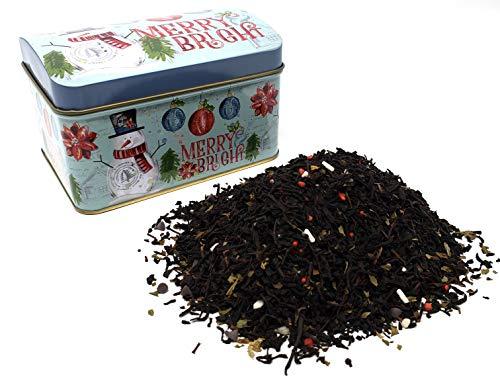 (Christmas Peppermint Bark Tea Gift Tin)
