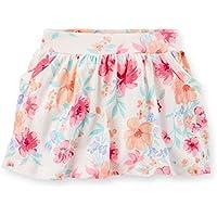 Short saia de malha floral Carter's 2T