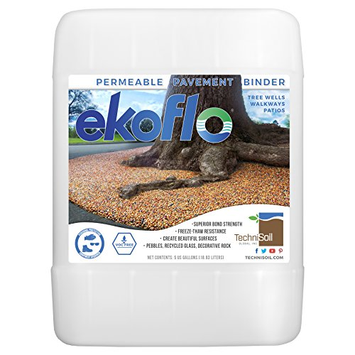 TechniSoil EkoFlo Permeable Pebble Binder (5-gal. (Pebble Pool Base)