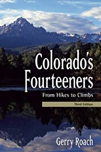Book cover: Colorado's Fourteeners