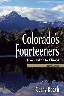 Book cover: Colorado's Fourteeners