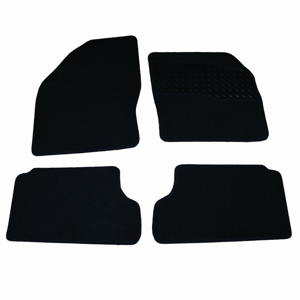 05-11 2 CLIPS FORD FOCUS RUBBER DRIVERS FLOOR CAR MAT TAILORED