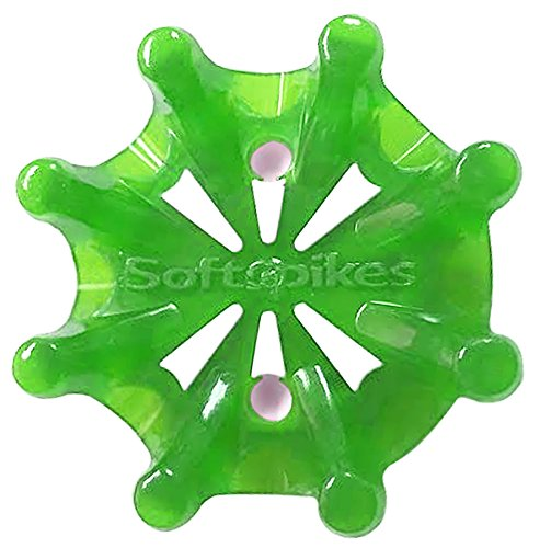 Fast Lock - Softspikes Pulsar Tour Lock Cleat - One Replacement Set - Green