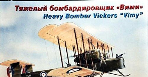 Heavy Bomber Kit - PLASTIC MODEL BUILDING AIRPLANE KIT VICKERS